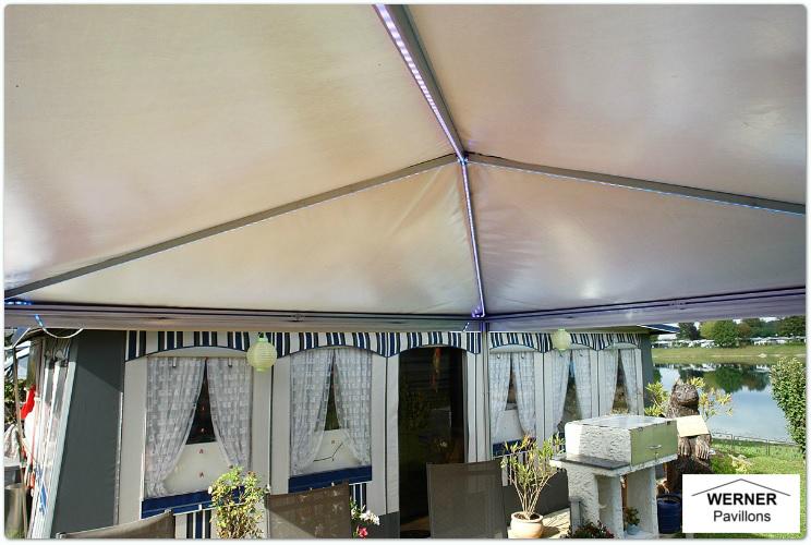 Beleuchtung Pavillon | Led Beleuchtung Www Alupavillon Com Der Pavillon Aus Aluprofil